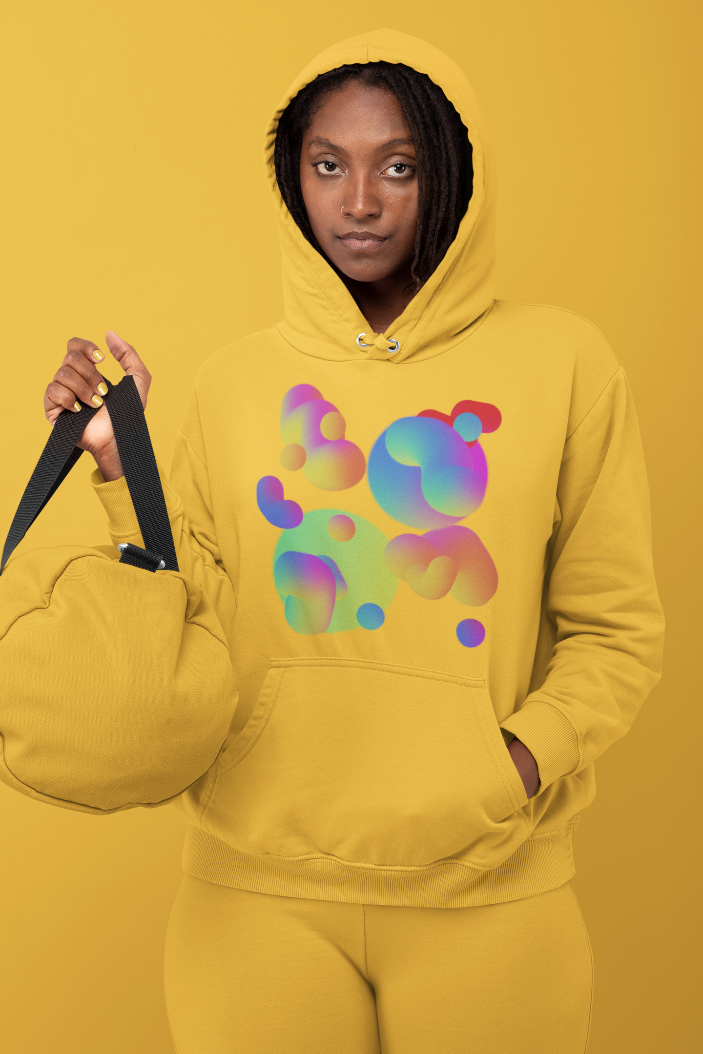hoodie-mockup-featuring-a-woman-in-a-monochromatic-outfit-at-a-studio-32809